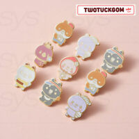 MONSTA X TWOTUCKGOM Official Authentic Goods Metal Badge + Tracking Number