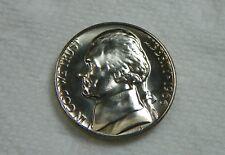 1966 Special Mint Set Jefferson Nickel Uncirculated B.U. from U.S. Mint Set