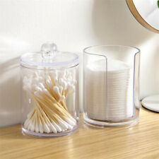 Cotton Pad Container Multifunctional Acrylic Cosmetic Holder Storage Organizer