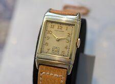 "New Low Price - Vintage & Rare 1938 Hamilton ""Otis"" Gold Reverso Watch - Super!"