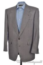 BRIONI Colorful Houndstooth SILK WOOL Mens Blazer Sport Coat Jacket - 44 L
