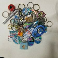 Large Advertising Keychain Lot