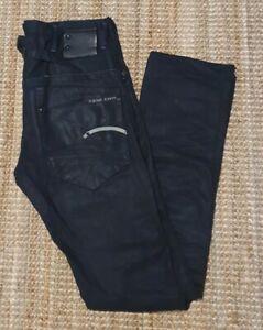 G-Star Raw Blade Slim Men's Black Denim Jeans Size 31 L34