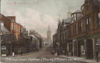 Dumfries, Scotland - UNITED KINGDOM - St. Michael's Street & Church