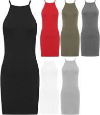 Bodycon Short Women's Mock Neck Dresses