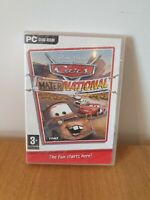 Cars Mater-National Championship PC DVD-ROM New & Sealed Free Fast Postage