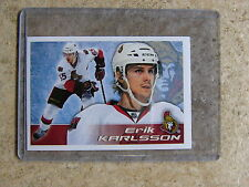 11-12 Panini NHL Hockey Stickers #122 ERIK KARLSSON