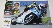 2015 George Letakis signed Suzuki GSX-R600 Daytona 200 ASRA poster