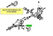 Mitsubishi Genuine OEM Differentials & Parts