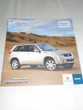 Suzuki Grand Vitara brochure Mar 2010 South African market English text