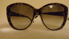 CHRISTIAN DIOR Cat Eye Women Sunglasses DIOR BENGALE ACUCC Ivory Brown Gradient