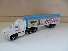 Ford Aeromax with Articulated Trailer - Coca Cola - Matchbox - 1-97 - 1981 China