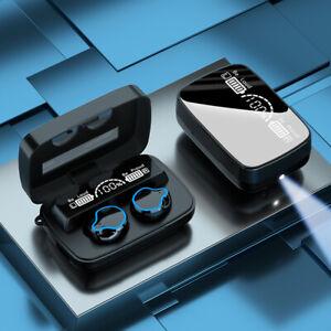 TWS Wireless Bluetooth Headphones Earphones Earbuds in-ear For iPhone Samsung