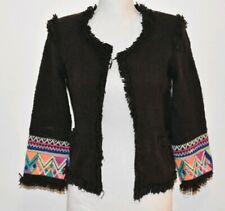 Black Billabong lightweight jacket with design Small