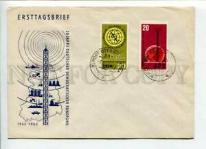 421622 EAST GERMANY GDR 1967 year RADIO UIT First Day COVER