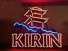 """New Kirin Beer Man Cave Neon Sign 24""""x20"""""""
