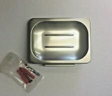 "Wall Mounted Brushed Nickel Soap Dish Holder ""NEW"""
