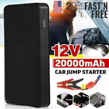 12v 20000mah Mini Portable Car Jump Starter Power Bank Booster Battery Charger