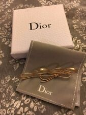 Christian Dior Miss Dior Four Finger Bow Ring Size Medium Gold