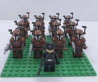 12x Mandalorian Trooper Mini Figures (LEGO STAR WARS Compatible)