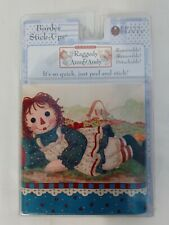 Classic Raggedy Ann & Andy Border by Priss Prints Peel & Stick Made in USA 15'