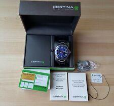 Men's Certina 1888 DS Action Powermatic 80 Diver's Watch + Box & Papers