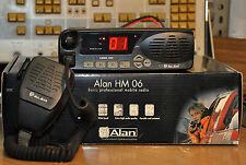 Ricetrasmittente Veicolare Vhf Omologato Nuovo Alan Hm 106 136/174 Mhz 4>25W