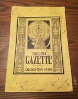 1924 LYNN CLASSICAL High School GRADUATION Gazette Massachusetts History