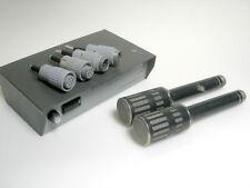 pair NEUMANN RFT GEFELL PM750 + connectors + power supply N691 PSU microphone