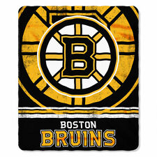Boston Bruins Fleece Throw 50  x 60