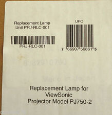 Replacement Lamp for ViewSonic Projector PJ750-2  NEW