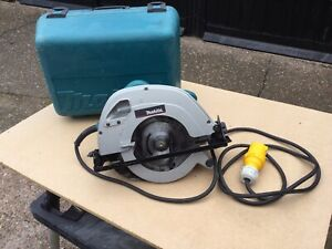 Makita 5704R 190mm Circlar Saw 110V , Blade And Carry Case