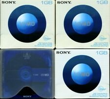 HIMD MINI DISCS MD SONY 1GB - BRAND NEW SEALED LOT OF 4 pieces