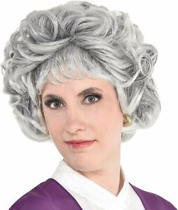 amscan Party City Sarcastic Senior Wig Halloween Costume Accessory for...