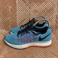 Nike Air Zoom Pegasus 32 Women's 7 Blue Lagoon Black Sunset Glow 749344-408