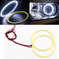 1Pair 90MM Car Led Headlight COB LED Halo Ring Angel Eyes LED Warning Lamps 12V