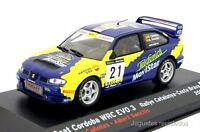 1/43 SEAT CORDOBA WRC EVO3 CAÑELLAS RALLY CATALUNYA 2001 IXO ALTAYA DIE CAST