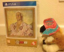 WWE WWF 2019 2K19 Ric Flair WOOOOO COLLECTORS EDITION  PS4 Funko Pop Ring +more