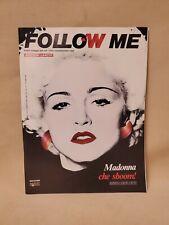 Vintage Follow Me Magazine Madonna Cover October 1990 Italian Magazine