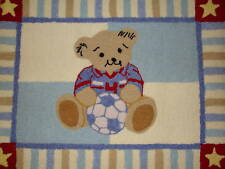 "New Kidsline Play Ball Teddy 30"" X 40"" Nursery Rug"