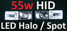 Toyota Landcruiser 61 62 80 series Combo 55W HID Hi/Lo LED White & 55W HID Inner