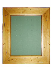 Golf Ball Marker Display Frame - For 35 Stem / Peg Markers - Worm - Wall Hanging