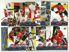 2008-09 Upper Deck MVP Winter Classic - Complete Set - 20 Cards