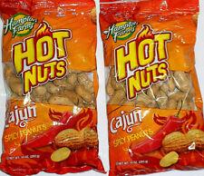 Cajun Spicy Peanuts Hampton Farms Expiration Date Dec.11, 2021 2-10 Oz Bags