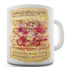 Twisted Envy Violin Sheet Music Ceramic Funny Mug