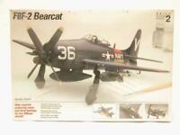 1/48 Testors Grumman F8F-2 Bearcat Plastic Scale Model Kit Factory Sealed NEW