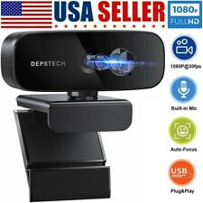 1080P Full HD Webcam Auto Focusing USB Web Camera with Microphone For PC Laptop