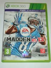 "Madden NFL 13 American Football   Xbox 360   ""FREE UK  P&P"""