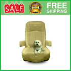 Seat Covers Captain Motor Home Chair Leather Like Fit Sheet Skin Brown 2 pcs