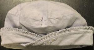 Vintage GYMBOREE Lavender Corduroy HAT Flowers Size 6-9-12 mo